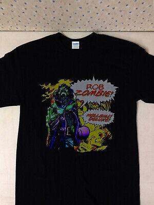 WHITE ZOMBIE Vtg 1994 Tee Shirt La Sexorcisto Rob 90s Metal Band T-shirt Reprint