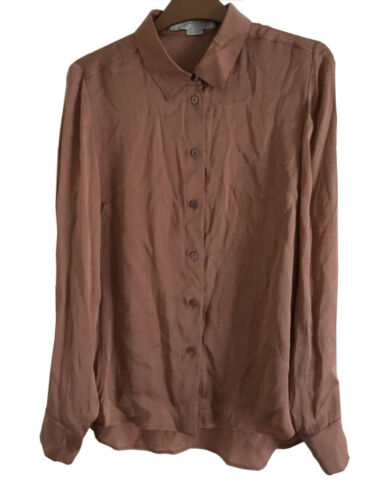 Mccartney Shirt Wj0 Silk Stella 311572 Bnwt S4w8ZZ