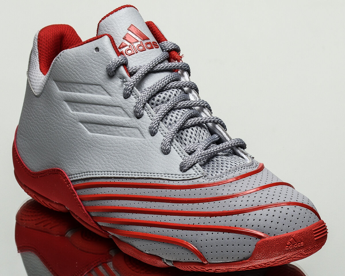 adidas Return Of The Mac Homme basketball  chaussures  t-mac 2018 NEW Gris Rouge B49737
