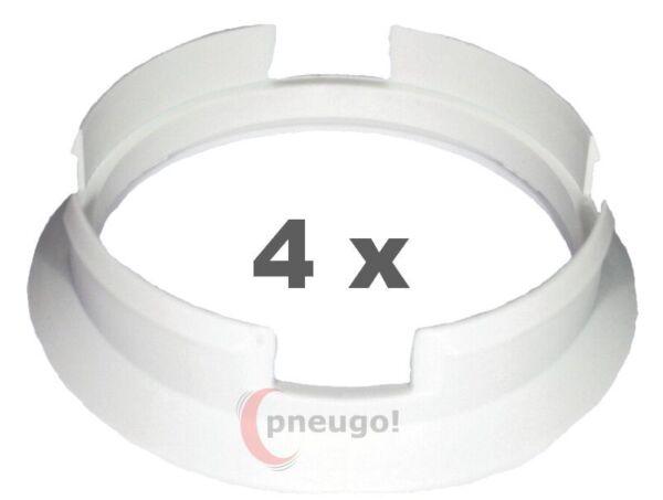 4 pezzi anelli di centraggio 73.1mm su 70.3 mm VERDE//GREEN