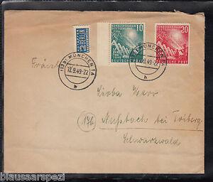 A-24-Germany-toller-Beleg-111-112-als-Mischfrankatur-von-Muenchen-12-09-1949
