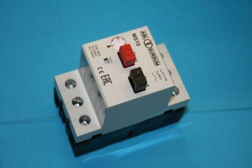 Motorschutz mit Gehäuse ABL MS1, 0,63A IP55 1,00A Motorschutzschalter