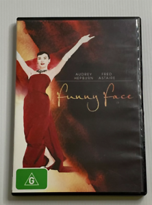 Funny-Face-DVD-Free-Post-Aussie-Seller-Audrey-Hepburn-Fred-Astaire