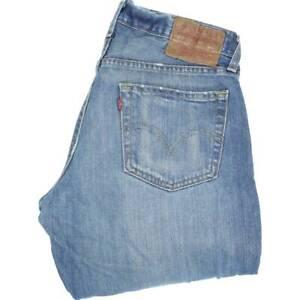 Levi-039-s-527-Herren-Blau-Bootcut-Regular-Jeans-w32-l32-47072