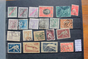 LOT-STAMPS-PORTUGAL-USED-F104970