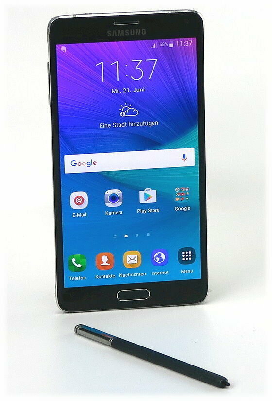 Samsung Galaxy: Samsung Galaxy Note 4 3GB RAM 32GB Smartphone 5,7″ Super AMOLED SM-N910F