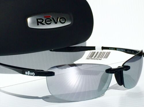 7283c64a6a 7 of 12 NEW  REVO DESCEND E BLACK w POLARIZED Mirror grey Lens Sunglass 4060  01 ST