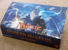 MAGIC THE GATHERING MODERN MASTERS 2017 1/2 BOOSTER BOX = 12 BOOSTER PACKS SEALD
