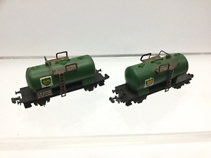 Lima-454-N-Gauge-Tank-Wagon-BP-x2
