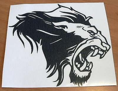 adesivo LEONE sticker decal vynil vinile king lion auto moto vetro wall safari