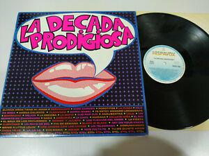 La-Decada-Prodigiosa-1985-Hispavox-LP-Vinilo-12-034-VG-VG