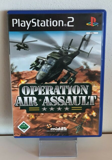 Operation Air Assault (PS2) PLAYSTATION 2. + Manuel B57