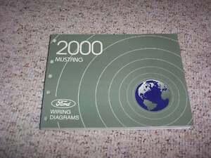 2000 Ford Mustang Electrical Wiring Diagram Manual Convertible Gt Cobra V6 V8 Ebay