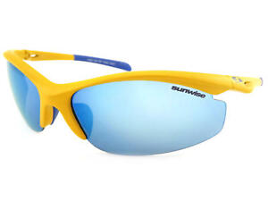 9ac6258aa9a0 SUNWISE - PEAK MK 1 Yellow-Blue Sunglasses with Blue Mirrored Lens ...