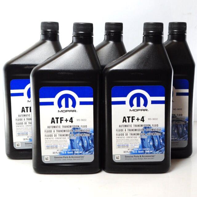 original mopar atf 4 automatic transmission fluid for. Black Bedroom Furniture Sets. Home Design Ideas