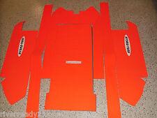 Kawasaki 750-SX-SXI-PRO Jet-Ski Hydro-Turf Mat Kit Orange In stock HT67FS