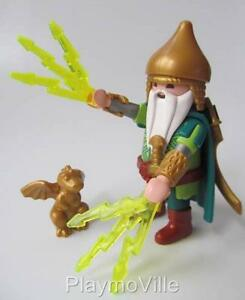 playmobil wizard dragon warrior figure for castle magic theme sets