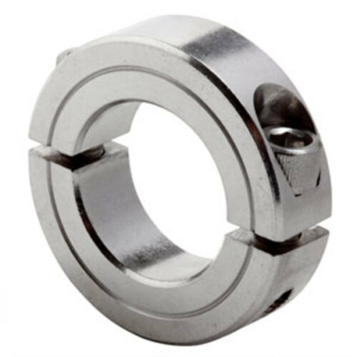 """3//4/"""" ID Stainless Split Clamp Collar SS G2SC-075-SS"""