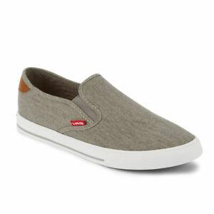 Levi-039-s-Mens-Seaside-CT-L-Casual-Rubber-Sole-Slip-On-Sneaker-Shoe