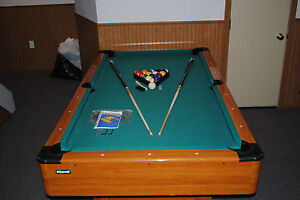 Mizerak Dynasty Space Saver Pool Table Inch Used Good - Mizerak space saver pool table