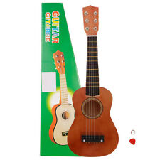 "21"" Beginners Kids Acoustic Guitar 6 String with Pick Children Kids Gift Coffee"