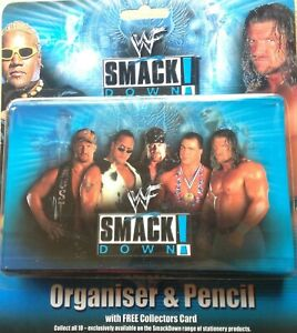 WWF-organiser-and-pencil-set-super-RARE-amp-collectable-perfect-for-COLLECTORS