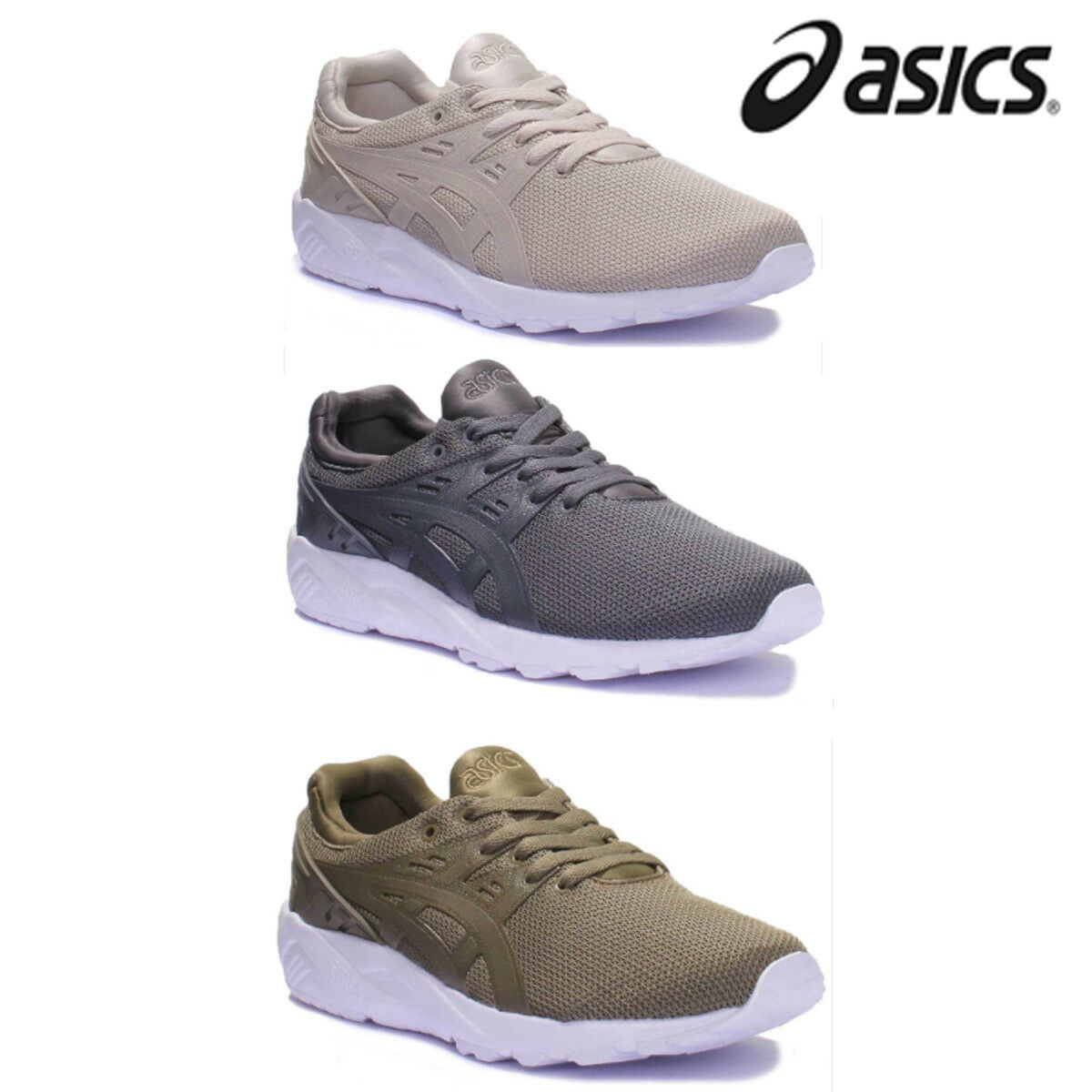 Asics Asics Asics Gel Kayano EVO Feathered Grey Men Mesh Trainers  7 - 12.5 097e4e