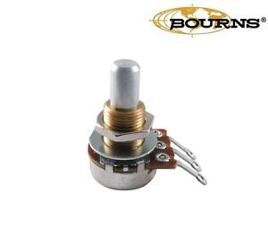 Bourns-Mini-Potentiometer-Solid-shaft-250K-500K-Audio-Taper