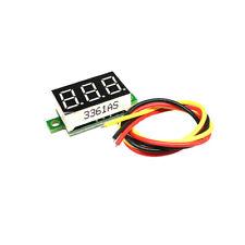 805 Micro 036 Inch Digital Voltmeter Dc 0v 100v Three Wires 3 Digit Battery
