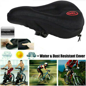 Bike Bicycle Cycle Extra Comfort Gel Pad Cushion Cover for Saddle Comfy Seat