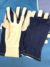 Bellingham Work Gloves Lot Of Four 4 Leather Palm Size Medium