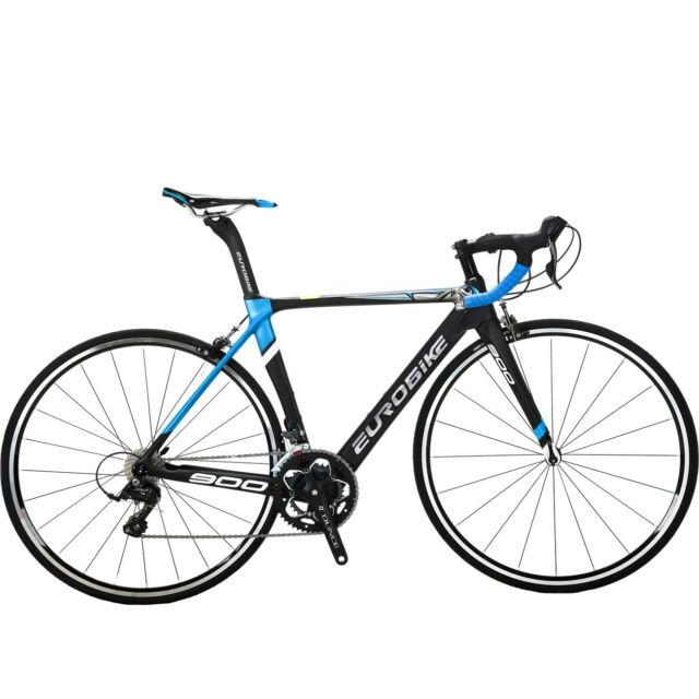 Carbon Fiber Bikes >> 700c Road Bike Carbon Fiber Frame 18 Speed Complete Racing Bicycle 50cm Bikes