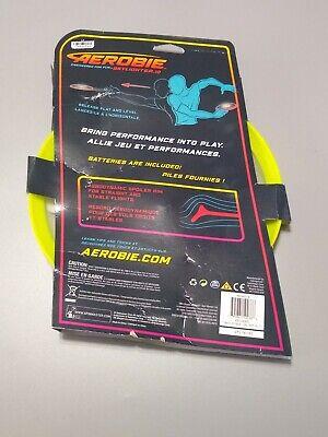 Aerobie Skylighter Lighted Flying Disc Red