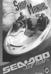 1995 seadoo speedster sportster boat bombardier shop service repair rh ebay com seadoo speedster repair manual 2006 seadoo sportster owners manual