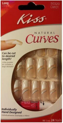 Kiss Natural Curves Long Nails Cmk01 Spicy 24ct