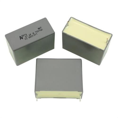 5; r747w3470aa00m; 470nf 10x MKP-Condensateur radial 0,47µf 700v AC; rm37