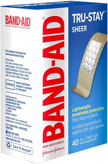 Sheer Spot Bandages Cvs Pharmacy 110 Total All One Size Latex
