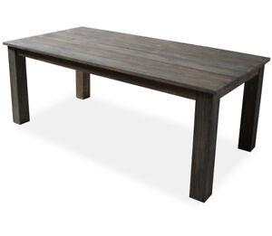 Kmh Teak Gartentisch 200 X 100 Cm Terrassentisch Esstisch Tisch