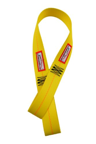 "RACERDIRECT VEHICLE AXLE STRAPS PAIR 8,900 WORKING LOAD STRENGTH 36/"" LONG"