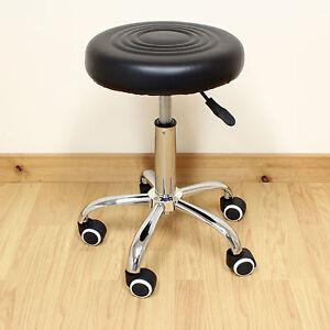Adjustable Round Swivel Chair Stool Tattoo Nail Technician