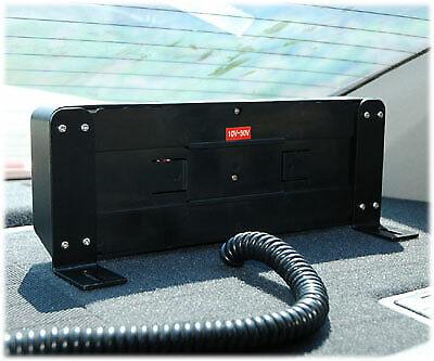 White LED Visor Strobe fire ems emt tow truck warning hazard construction