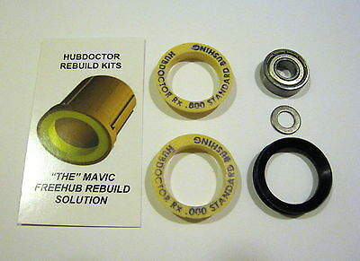 2 MAVIC CROSSMAX FREEHUB BUSHING STANDARD .000 /& .003 O.S Qty REBUILD KIT