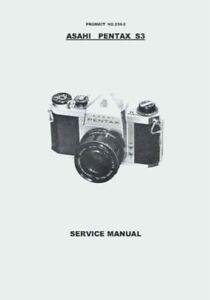 Pentax 645 instruction manual.