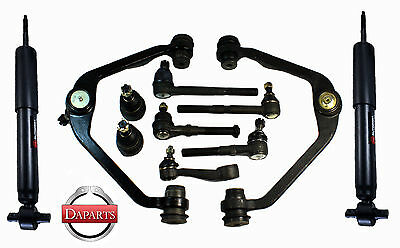 01-02 FORD EXPEDITION 2WD Front Suspension Shock Absorber Upper Arms Ends Pitman