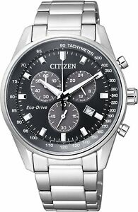 Citizen-Eco-Drive-AT2390-58E-Chronograph-Men-039-s-Watch-From-Japan