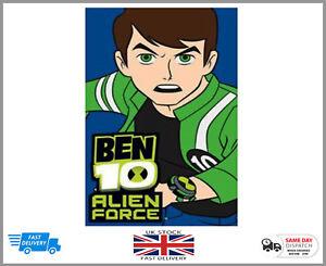 100% Official Ben 10 Childrens Kids Rug Bedroom-non Slip Mat Poison 80 Cm X 50 Cm-afficher Le Titre D'origine ProcéDéS De Teinture Minutieux