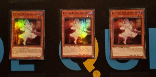 Super Rare ROTD-EN088 YuGiOh Ret-time Reviver Emit-ter x3 1st Ed
