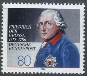 Germany-1986-MNH-Mi-1292-Sc-1469-King-Frederick-the-Great-King-of-Prussia