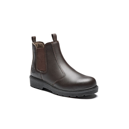 Protective Slip Dickies Steel Dealer S1p Cap On Shoe Brown Waterproof Boots Safety Toe qT0f16Tg