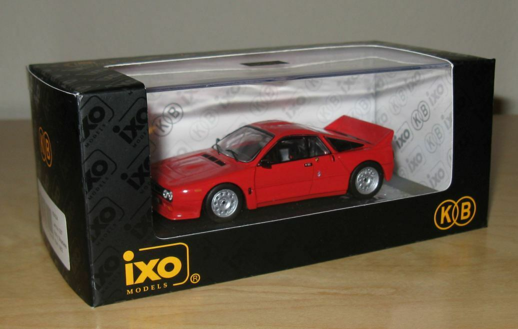 1 43 1982 LANCIA RALLY 037 Stradale IXO MODELS Diecast voiture Kokusai Boeki Japon